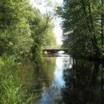 Bron över ån Tidan i Fröjered, Tidaholm