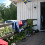 Incheckning vid Klämmesbo Missionshus, Tidaholm